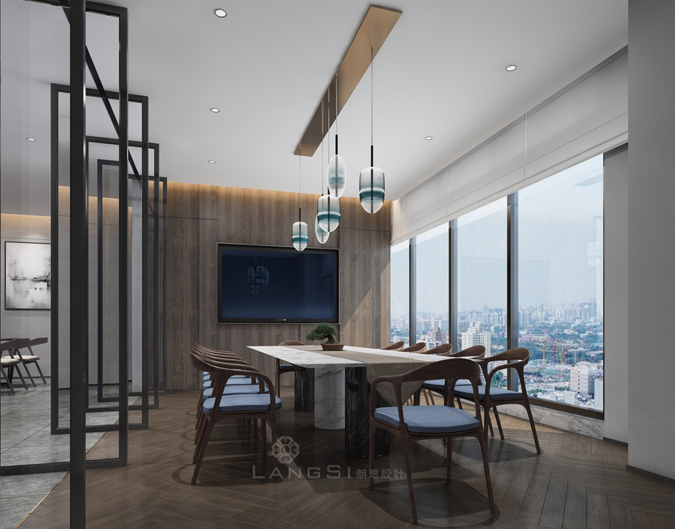那间让你爱上工作的广州办公室设计就在这里